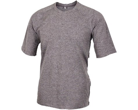 Club Ride Apparel Men's Tune Tech Jersey (Asphalt) (XL)