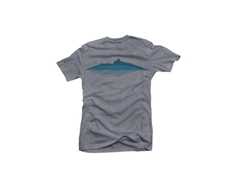 Club Ride Apparel Men's Grand Graphic Tee (Heathered Grey) (S)