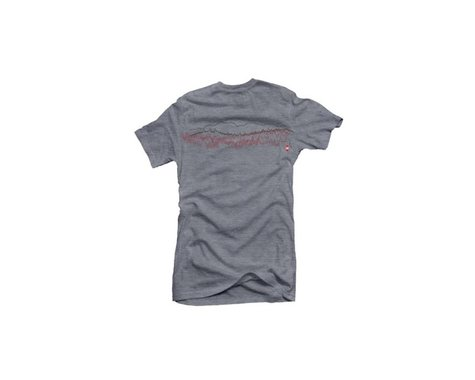 Club Ride Apparel Women's Saw Graphic Tee (Heathered Grey) (XL)