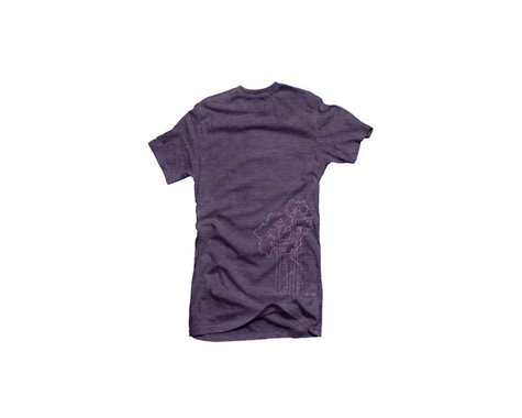 Club Ride Apparel Women's Aspen Graphic Tee (Loganberry) (XS)