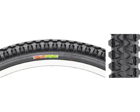 Club Roost Cross Terra Hybrid Tire - 27 x 1-3/8, Clincher, Steel, Black, 60tpi