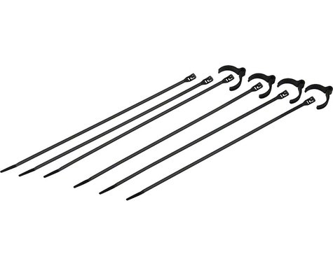 Cobra Products Cobra Ties Kit of 4 Flexroute Cable Guides and 6 Low Profile 50lb Cobra Ties (19