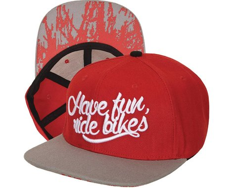 Colony Have Fun Snapback Hat (Red/Grey)