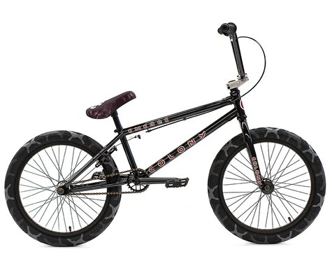 "Colony Emerge 20"" BMX Bike (20.75"" Toptube) (Black/Grey Camo)"