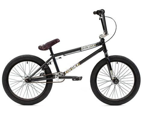"Colony Premise 20"" BMX Bike (20.8"" Toptube) (Black/Polished)"