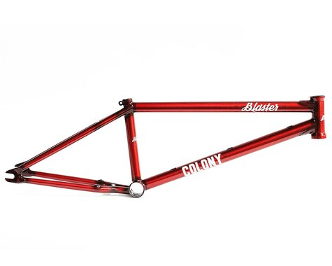 "Colony Blaster Frame (Chris James) (Clear Red) (20.8"")"