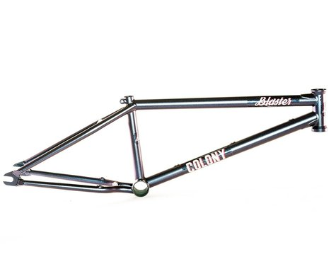 "Colony Blaster Frame (Chris James) (Matte Metallic Blue) (20.8"")"