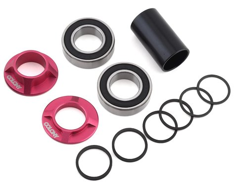 Colony Mid Bottom Bracket Kit (Pink) (22mm)