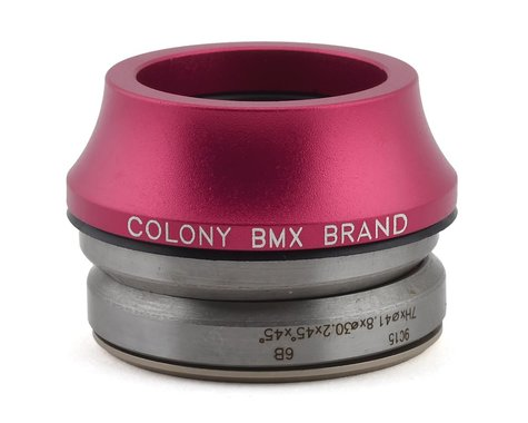 """Colony Tall Integrated Headset (Pink) (1-1/8"""")"""