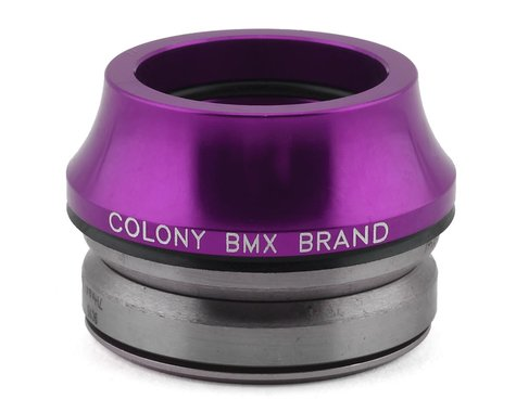 "Colony Tall Integrated Headset (Purple) (1-1/8"")"