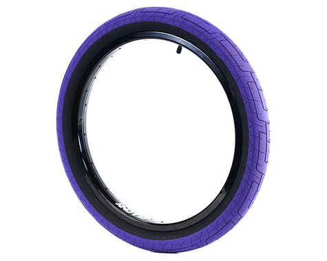 "Colony Griplock Tire (Dark Purple/Black) (20"") (2.2"")"