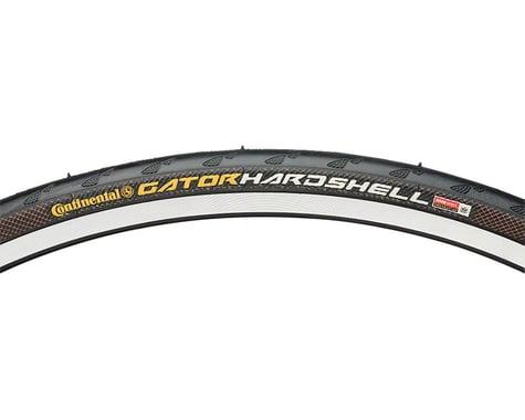 Continental Gator Hardshell Tire - 27 x 1-1/4, Clincher, Wire, Black, 180tpi