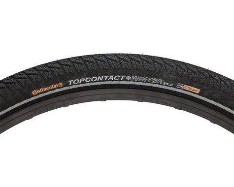 "Continental Top Contact Winter II Premium Tire (Black) (26"") (2.0"")"