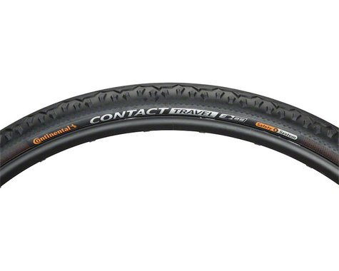 Continental Contact Travel Tire (Black) (700c) (42mm)