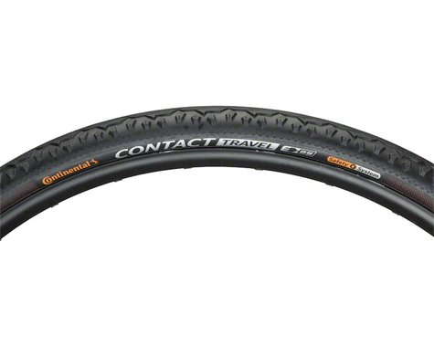 Continental Contact Travel Tire (Folding Bead) (Black) (700 x 42)