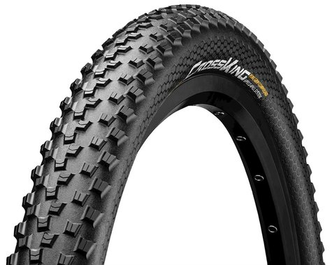 "Continental Cross King Mountain Bike Tire (Black) (ShieldWall) (27.5"") (2.2"")"