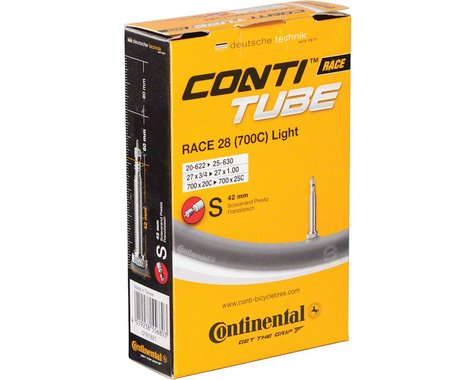 Continental Light Presta Valve Tube (700 x 18-25) (42mm)