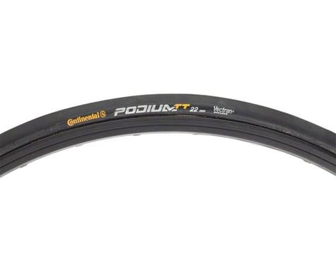 Continental Podium TT Tubular Tire - 700 x 22, Tubular, Folding, Black, 180tpi