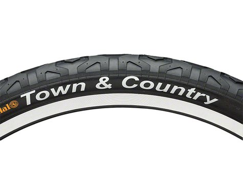 "Continental Town & Country City Tire (Black) (26"") (2.1"")"