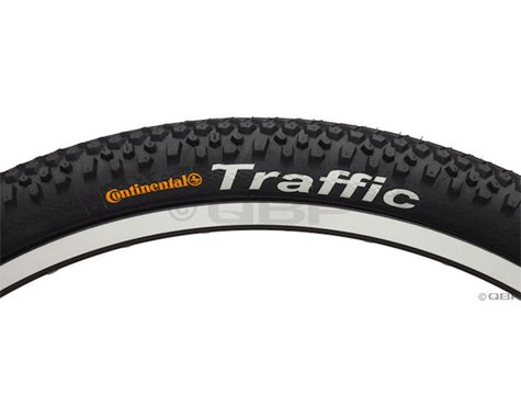 "Continental Traffic Tire (Black) (26"") (2.1"")"