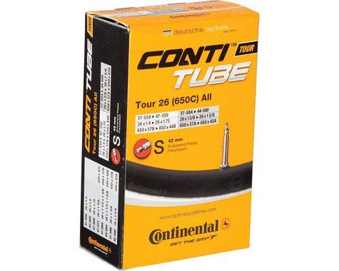 "Continental 26"" Tour Inner Tube (Presta) (1.4 - 1.75"") (42mm)"