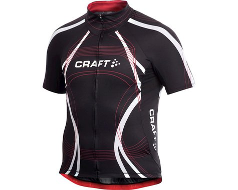 Craft Performance Bike Tour Short Sleeve Jersey (Black)