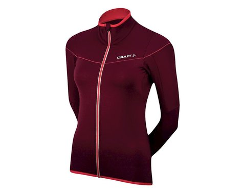 Craft Women's Performance Bike Light Thermal Long Sleeve Jersey (Purple)