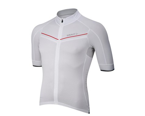 Craft Tech Aero Short Sleeve Jersey (White)