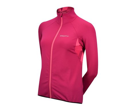 Craft Women's Velo Thermal Long Sleeve Jersey (Pink)