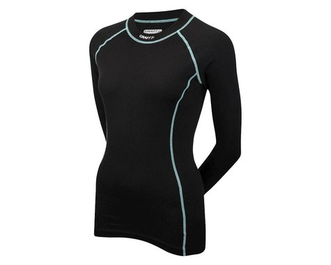 Craft Women's Be Active Crew Neck Long Sleeve Baselayer - Performance Exclusive (Grey/Pink)