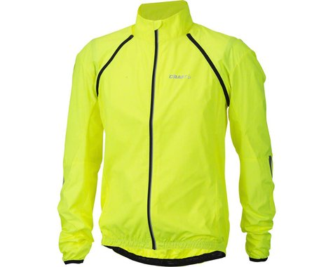 Craft X-Over Convert Men's Jacket: Hi-Vis SM