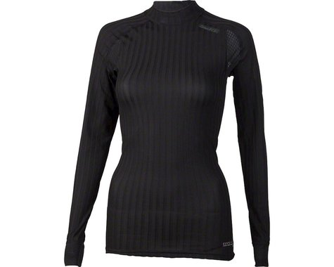 Craft Active Extreme 2.0 Women's Crewneck Long Sleeve Top: Black MD