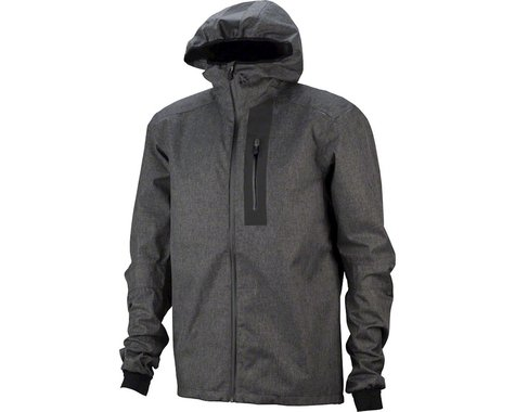 Craft Ride Men's Rain Jacket (Gray Melange)