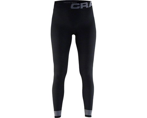 Craft Warm Intensity Women's Base Layer Pant (Black/Granite)