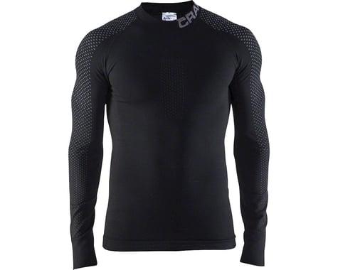 Craft Warm Intensity Crew Neck Long Sleeve Top - Black, Men's, Small