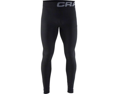 Craft Warm Intensity Men's Base Layer Pant (Black/Granite)