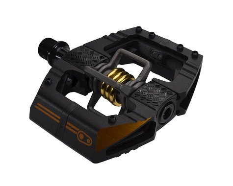 Crankbrothers Mallet Enduro 11 Pedals (Black/Gold)