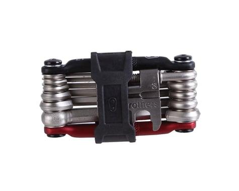 Crankbrothers Multi-17 Mini Tool (Black/Red)