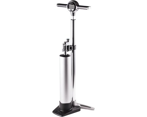 Crankbrothers Klic Floor Pump w/ Digital Gauge & Compression Canister