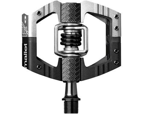 Crankbrothers Mallet E LS Pedals (Silver/Black)