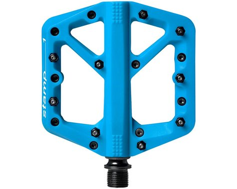 Crankbrothers Stamp 1 Platform Pedals (Blue) (Pair) (S)