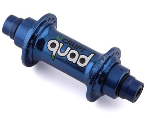 Crupi Quad Front Hub (Blue) (36H)