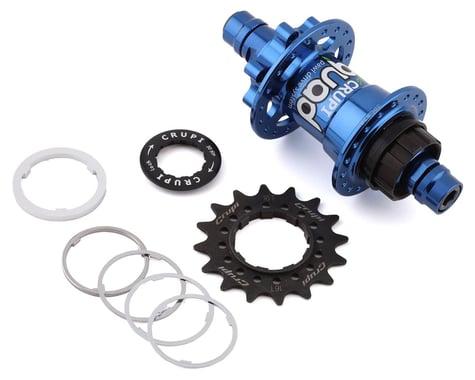 Crupi Quad Rear Disc Brake Hub (Blue) (36H) (10mm)