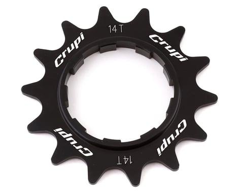 Crupi Aluminum Cassette Cog (Black) (14T)