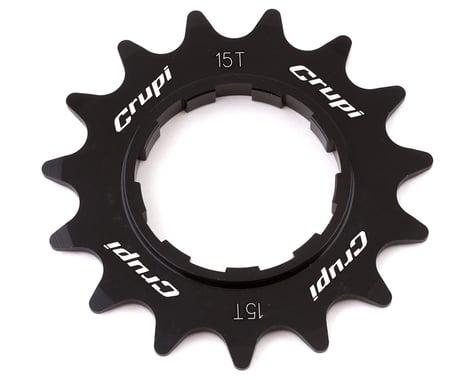 Crupi Aluminum Cassette Cog (Black) (15T)