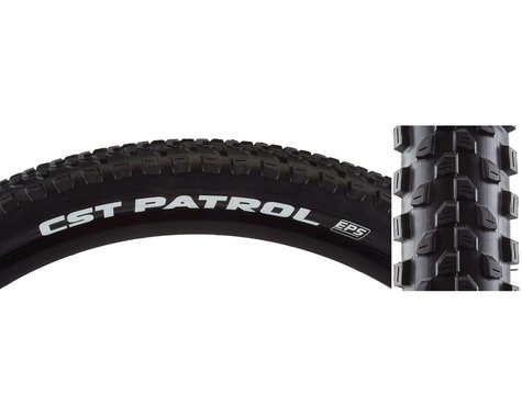 CST Patrol EPS Tire (Dual Compound) (Foldable) (Black) (27.5 x 2.80)