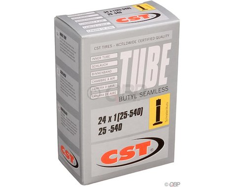 """CST 24"""" Bike Inner Tube (Schrader) (1.0"""")"""