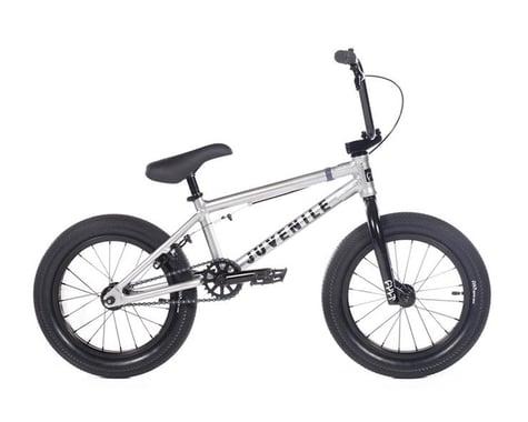 """Cult 2020 Juvenile 16"""" Bike (16.5"""" Toptube) (Silver)"""