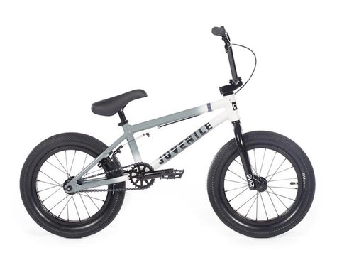 "Cult 2020 Juvenile 16"" Bike (16.5"" TT) (Grey/White)"