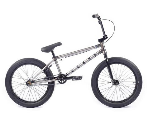 "Cult 2021 Access BMX Bike (20"" Toptube) (Raw)"